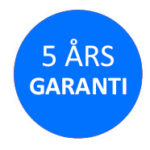 5 års garanti, Tyent Danmark